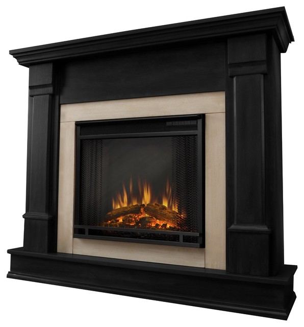 Real Flame Silverton Gel Fireplace Black G8600 B Indoor Fireplaces Other Metro By