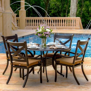 person cast aluminum patio dining set modern outdoor dining sets