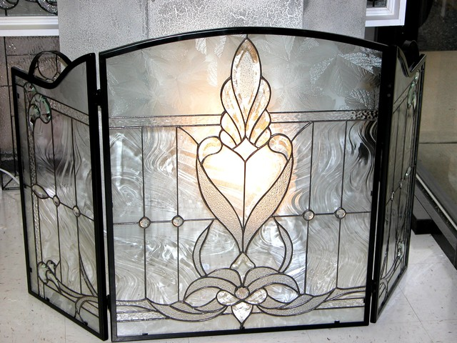 Fireplace screen Traditional Fireplace Screens DC