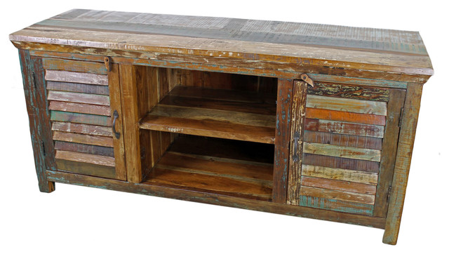 Mexicali Plasma TV Stand rustic-entertainment-centers-and-tv-stands