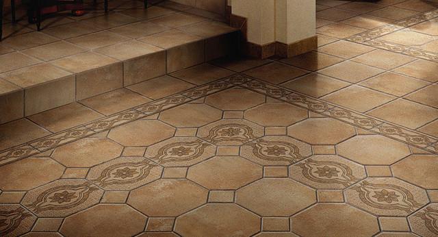 Mediterranean tile floors