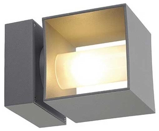 Square Turn Outdoor Wall Sconce modern-outdoor-wall-lights-and-sconces