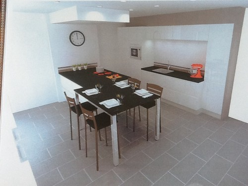 Moderniser un salon sejour cuisine - Amenager salon cuisine 25m2 ...