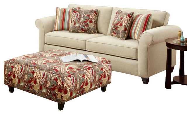 chelsea home essex 2 piece living room set upholstered in