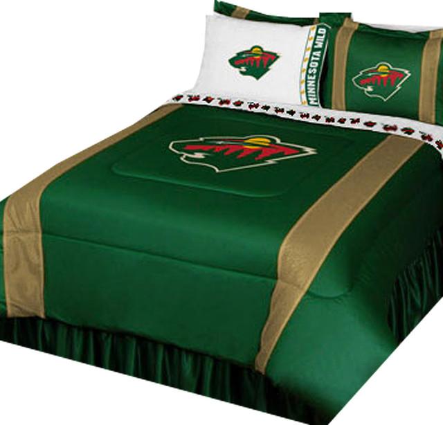 Minnesota Wild Bedding Twin