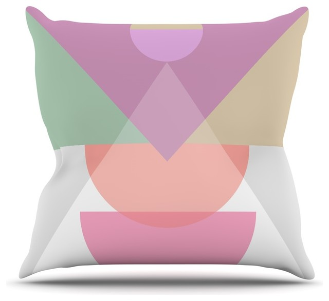 mareike boehmer pastel play 3x purple pink throw pillow 18 x18 indoor contemporain. Black Bedroom Furniture Sets. Home Design Ideas