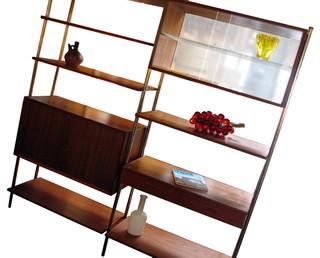 Vintage Danish Display Shelving - Double Finish - Modern - Furniture - los angeles - by Deja Vu ...