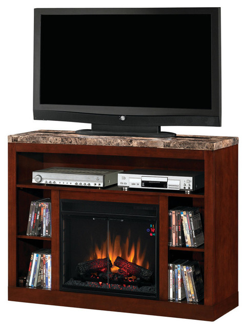 Classic Flame Adams Media Console Electric Fireplace - Traditional - Indoor Fireplaces - by Air ...