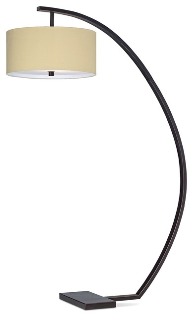 Contemporary Hanson Arc Floor Lamp Contemporary Floor