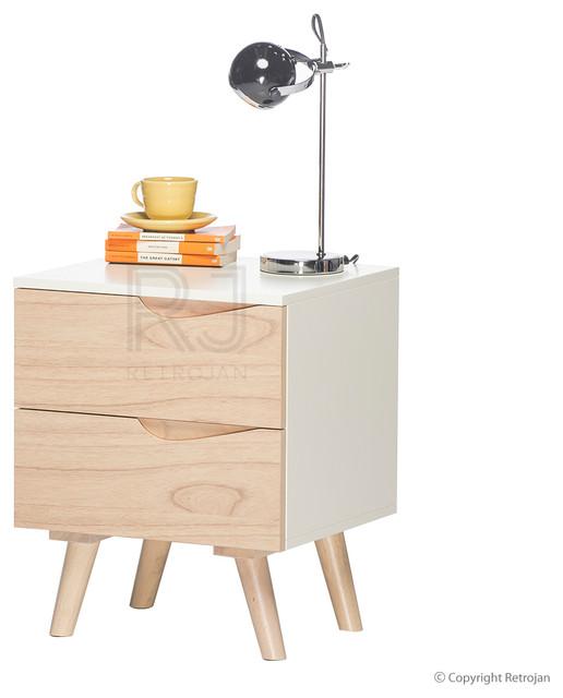 eddie scandinavian style bedside table modern. Black Bedroom Furniture Sets. Home Design Ideas