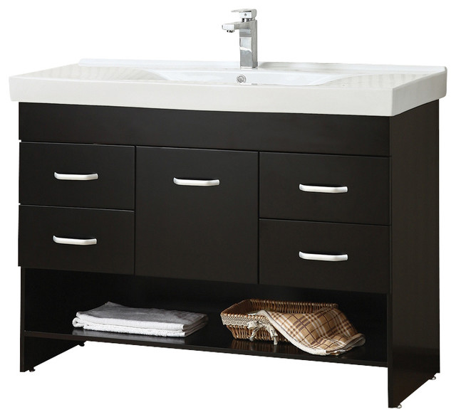 style single vanity cabinet modern bathroom vanities and sink consoles