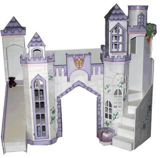 Castle Theme Bed W Slide Traditional Kids Houston By Sweet Retreat Kids
