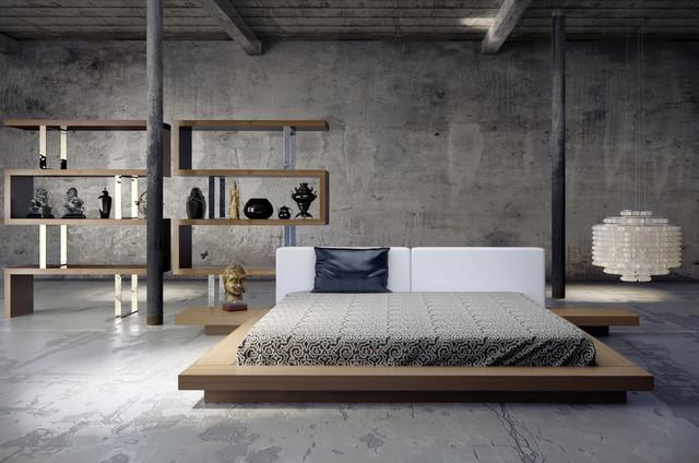 low platform bed 3
