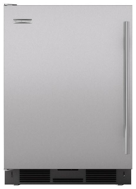 "24"" Undercounter Refrigerator/Freezer with Ice Maker - Modern - Refrigerators - by Sub-Zero and Wolf"