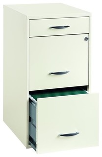 ... File Cabinet in White - Transitional - Filing Cabinets - by Cymax