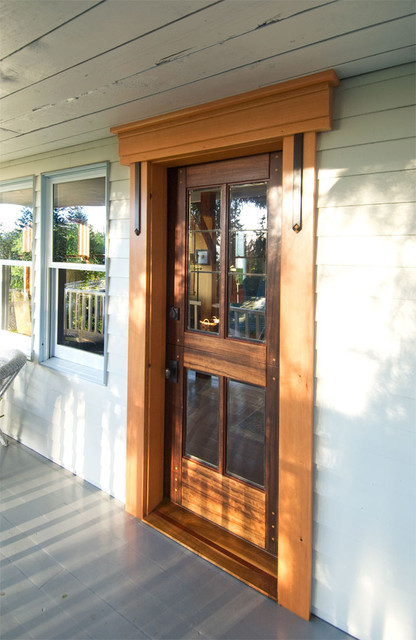 Dutch Doors Contemporary Front Doors By Real