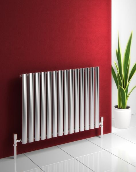 Nermin Single Stainless Steel Designer Radiator Contemporary Radiators London By Plumbonline