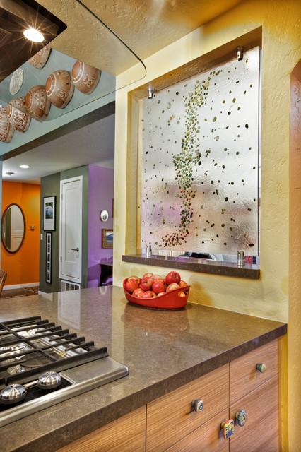 Residential Interior Element Mak Design Build Inc