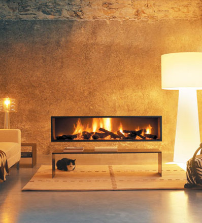 Neofocus for Modern living room gas fires