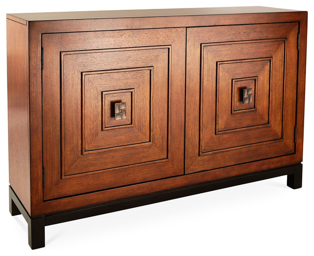 """Jakarta 54"""" Cabinet, Tawny - Contemporary - Storage Cabinets - by One Kings Lane"""