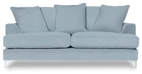 Baby Blue Sofa : All Products / Living / Sofas & Corner Sofas / Sofas