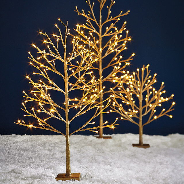 Luminous Tree Christmas Decorations Traditional