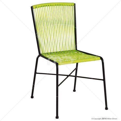 Acapulco Dining Chair Contemporary Outdoor Dining Chairs by Milan Direct