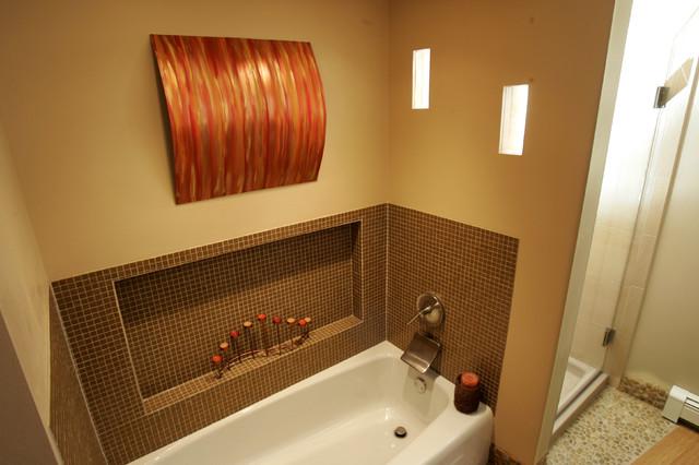Contemporary Bathroom Remodel Madison WI