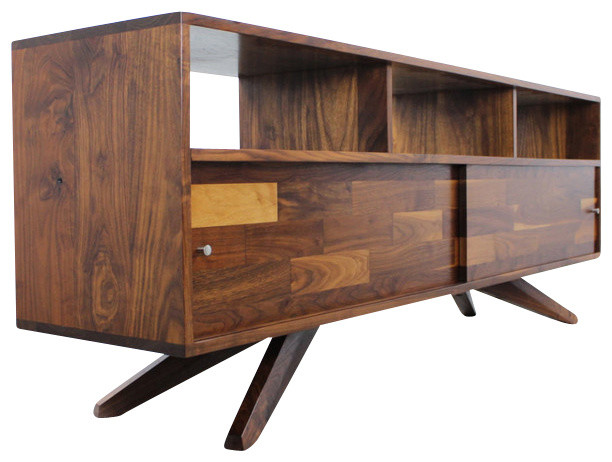 Divisadero Media/Record Console Sideboard - Midcentury - Entertainment Centers And Tv Stands ...
