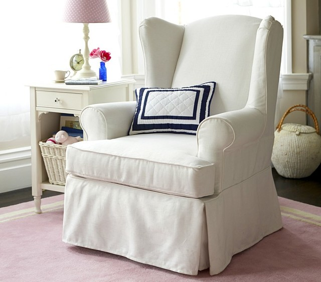 pottery barn glider recliner 2