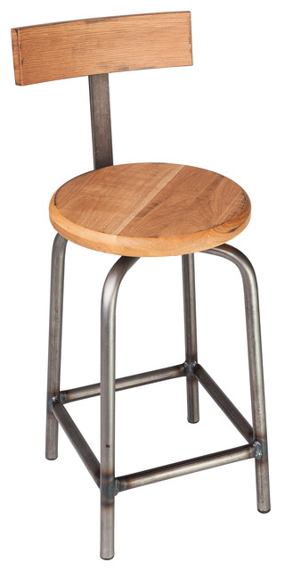 swivel pub stool with back 24 h contemporary bar