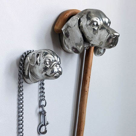 Dog Head Hook Eclectic Wall Amp Coat Hooks By Graham And Green