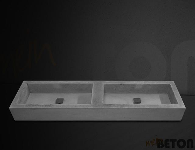 waschbecken waschtische aus beton modern waschtische. Black Bedroom Furniture Sets. Home Design Ideas