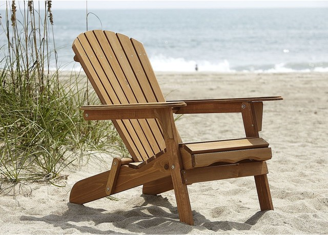 Country Living Adirondack Chair Natural Traditional Adirondack Chairs