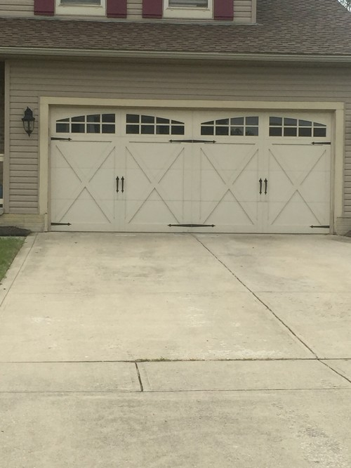 Garage door refacing business we started need pricing for Garage door refacing