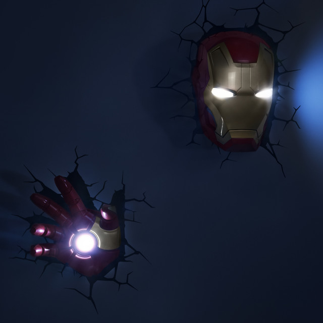 Marvel s Iron Man 3 from 3DlightFX - Kids Lighting - Other - by 3DlightFX