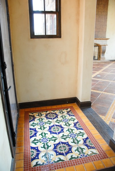 Mexican Tile Mediterranean Entry Austin By Clay