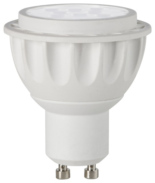 7 Watt 3000k Feit Led Dimmable Gu10 Base Mr16 Light Bulb: Tesler Dimmable 7 Watt GU10 LED Bulb