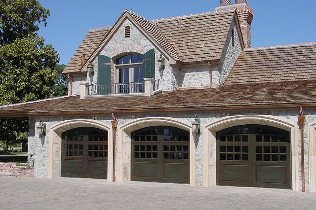 Carriage House Painted Garage Doors Modern