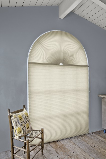 Smith and noble honeycomb shades rustic cellular for Smith and noble shades