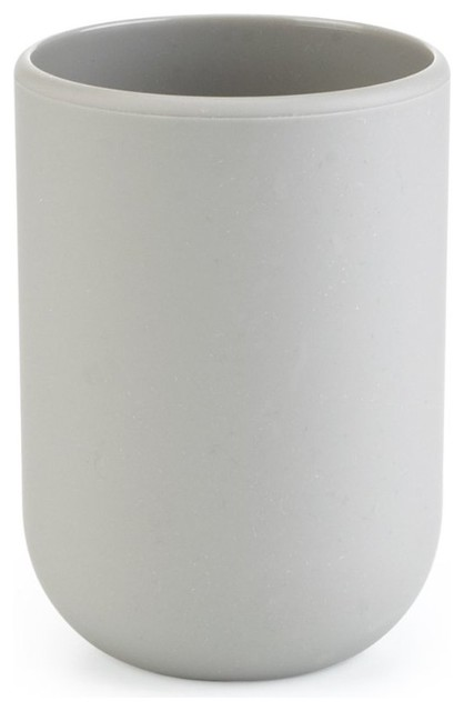 Umbra touch moulded bathroom tumbler surf blue for White bathroom tumbler