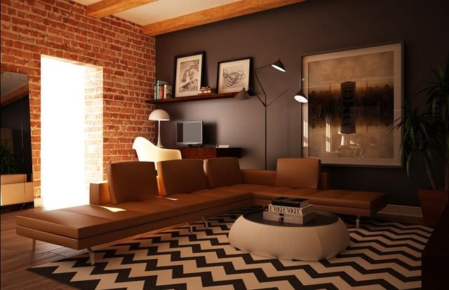 Boston loft for Brick meuble montreal