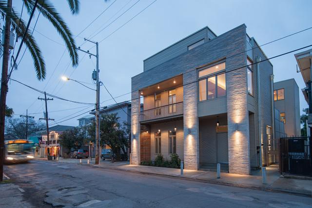 5940 magazine street moderno new orleans di studiowta for Casa in stile new orleans