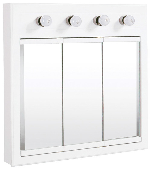 Concord 4 Light Surface Mount Medicine Cabinet, White Gloss · More ...