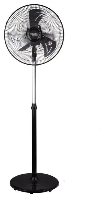 Black Decker 18 High Velocity Floor Fan Contemporary