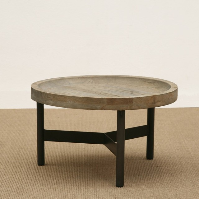 brucs small round oak side table. Black Bedroom Furniture Sets. Home Design Ideas