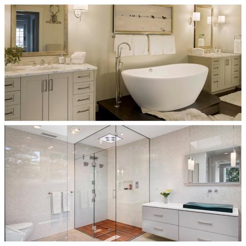 Bathtub vs shower for Garden tub vs standard tub