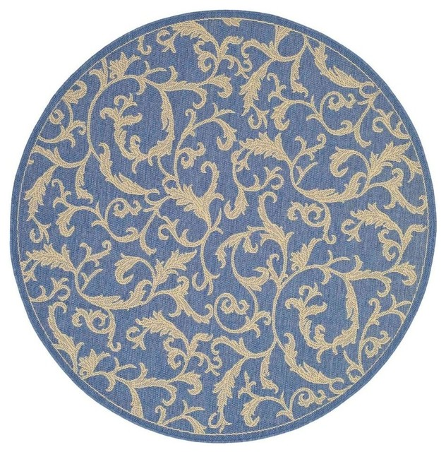 Transitional round rug 5 ft 3 in contemporary area for Round contemporary area rugs