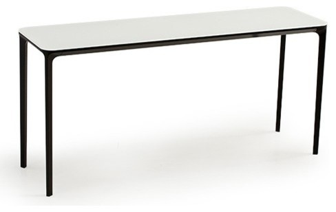Slim 8 console table 35 inch modern coffee tables for 35 console table
