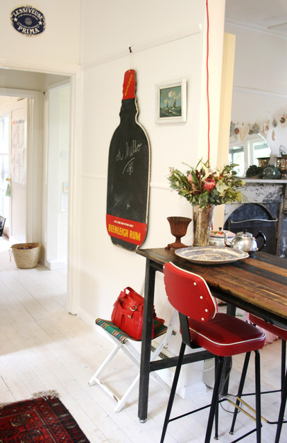 vintage blackboard in kitchen - Shabby-chic Style - melbourne - by Sweet William